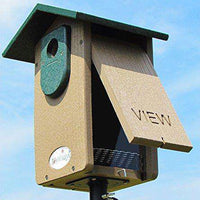 JCs Wildlife Brown Recycled Ultimate Bluebird House♻️ ?? - World of Birdhouses