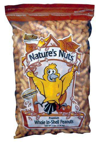 Chuckanut Products Premium Whole-In-Shell Peanuts, 10 lbs - World of Birdhouses