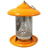 Heath Outdoor Products Ceramic Feeder, Orange - World of Birdhouses