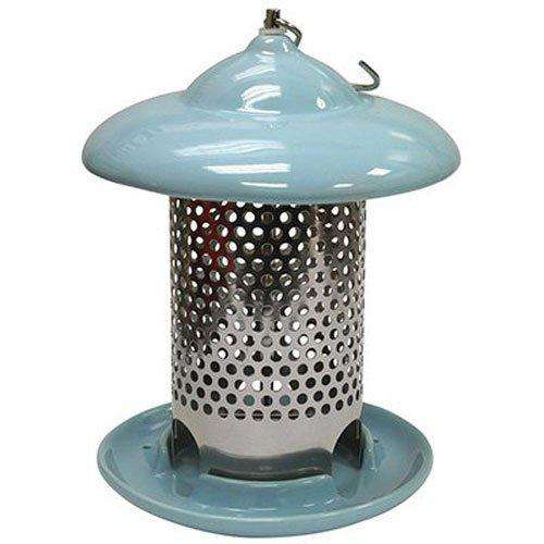Heath Outdoor Products Ceramic Feeder, Blue - World of Birdhouses