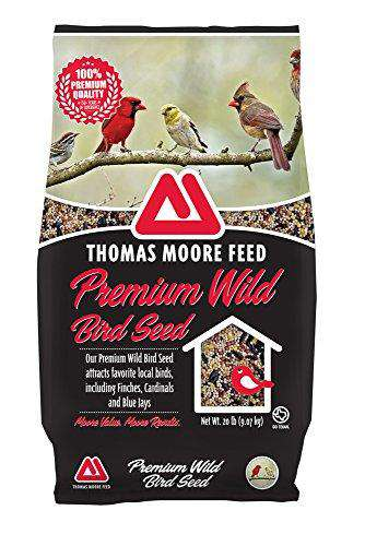 TMF 100% Premium Quality Wild Bird Seed , 20 lb - World of Birdhouses