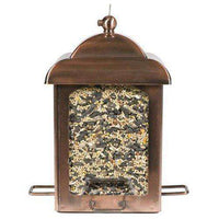Perky-Pet Antique Copper Lantern Feeder - World of Birdhouses