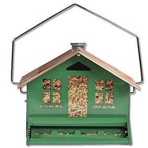 Perky-Pet Squirrel Be Gone II Feeder Home with Chimney - World of Birdhouses