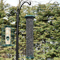 GrayBunny  Steel Sunflower and Peanut Feeder - World of Birdhouses