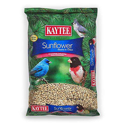 Kaytee Sunflower Hearts and Chips Seed, 3-Pound - World of Birdhouses