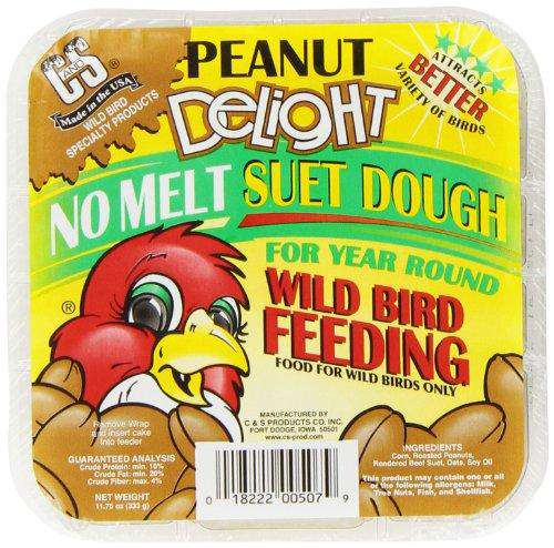 C & S Products Peanut Delight, Pack of 12 (11.75 Oz each) - World of Birdhouses