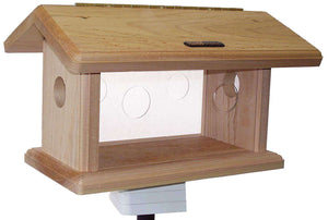 Birds Choice Cedar Bluebird Feeder