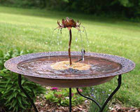 Copper Bird Bath - World Of Birdhouses