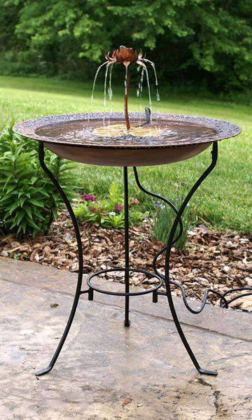 Electric Bird Bath - World of Birdhouses