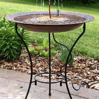 Fountain Bird Bath - World of Birdhouses