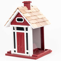 Bellport Cottage Bird Feeder/Red🚛