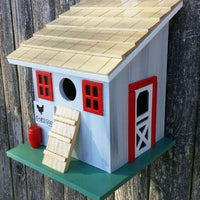 Chicken Coop Birdhouse - Small