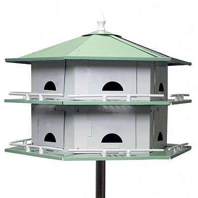 Heath Convertible Purple Martin House, 12 Room? - World of Birdhouses