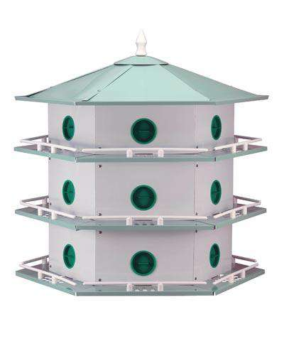 Heath Aluminum 18-Room Deluxe Martin House? - World of Birdhouses