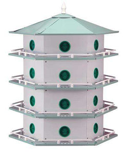 Heath Aluminum 24-Room Deluxe Martin House? - World of Birdhouses
