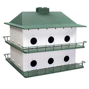 Heath Two-Story Purple Martin House, 12 Room? - World of Birdhouses