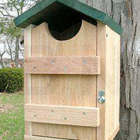 Looker Products Screech Owl and Kestrel House - World of Birdhouses