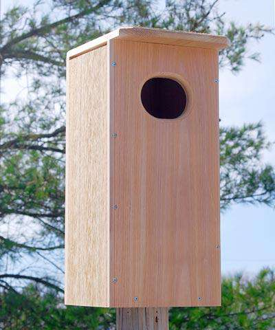 Looker Products Wood Duck House? - World of Birdhouses