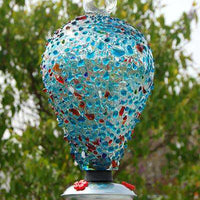 Parasol Eighty Days Balloon Hummingbird Feeder, Sprinkles - World of Birdhouses
