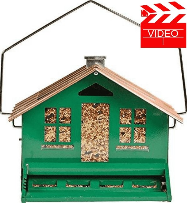 Perky-Pet Squirrel Be Gone II Feeder Home with Chimney