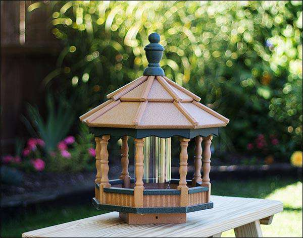 Poly-Lumber Gazebo Bird Feeder♻️