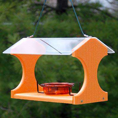 Woodlink Going Green Recycled Oriole and Bluebird Feeder - World of Birdhouses