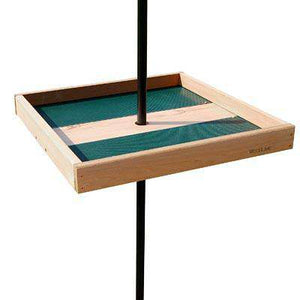 Woodlink Giant Pole Mounted Seed Tray with Pole Adapter - World of Birdhouses