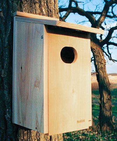 Woodlink Wood Duck House🚛 - World of Birdhouses