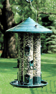 Woodlink Triple Tube Bird Feeder - World of Birdhouses