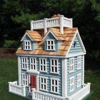 Nantucket Colonial Birdhouse - World of Birdhouses
