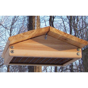 Stovall Wood Up Side Down Suet Feeder