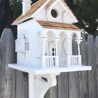 Honeymoon Cottage With Bracket - World of Birdhouses