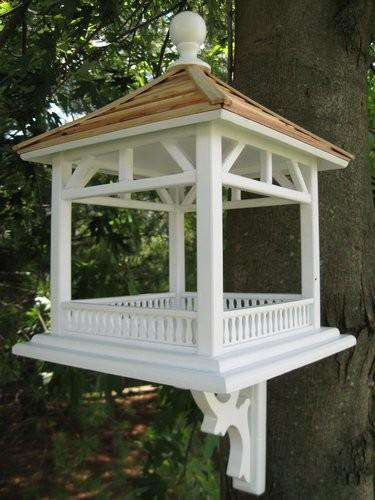 Dream House Feeder - Pine Shingle Roof - World of Birdhouses