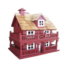 Novelty Cottage (Blue/Red/White)? - World of Birdhouses