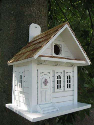Shotgun Cottage Birdhouse - World of Birdhouses