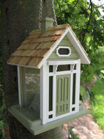 Bellport Cottage Bird Feeder/Green🚛
