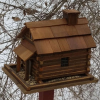 Valley Forge Feeder (Large) - Natural Cedar? - World of Birdhouses