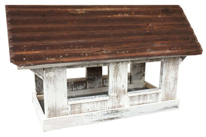 Columbia Covered Bridge Feeder - World of Birdhouses