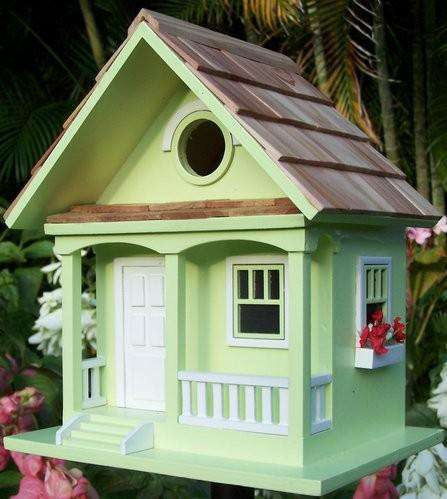 Key Lime Cottage Birdhouse - World of Birdhouses