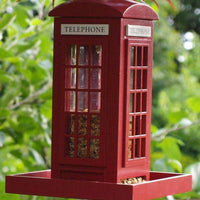 Telephone Booth Feeder? - World of Birdhouses