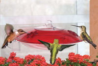 Droll Yankees Window Mount Hummer Feeder with Nectar Guard