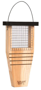 Natures Way Tail-Prop Suet Feeder/Cedar