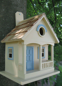 Pacific Grove Birdhouse Yellow/Blue🚛