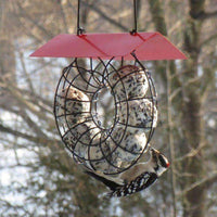 Songbird Essentials Suet Ball Feeder With Roof