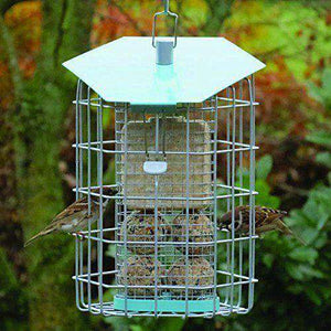 Nuttery Suet Caged Bird Feeder NC002