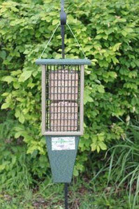 Double Suet Feeder Hunter Green Driftwood♻️