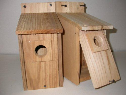 Two Eastern Bluebird houses