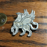 Griffin Pin - pewter