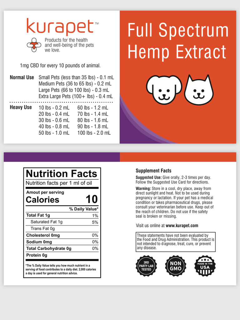 100 mg Full Spectrum Hemp Extract SAMPLE