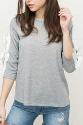 Soft Terry Pullover Top